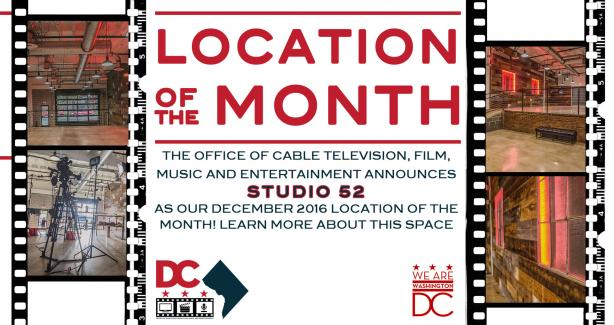 December 2016 Location of the Month: Studio 52