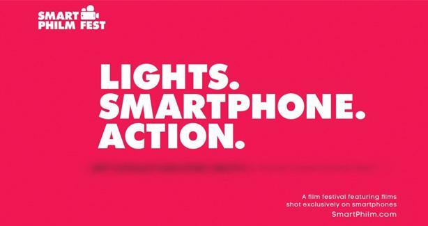 Lights. Smartphone. Action