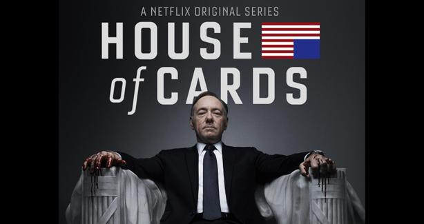 Kevin Spacey in the House of Cards Netflix Series Poster