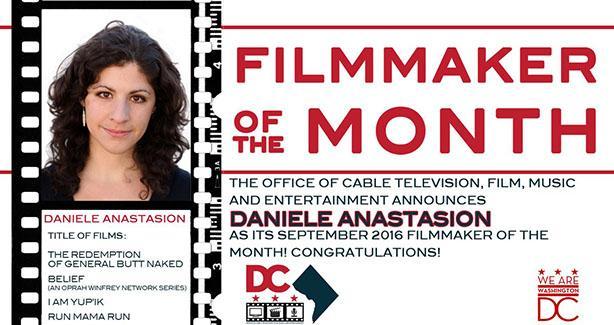 September 2016 Filmmaker of the Month