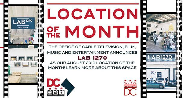 September 2016 Location of the Month