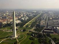 DC aerial view